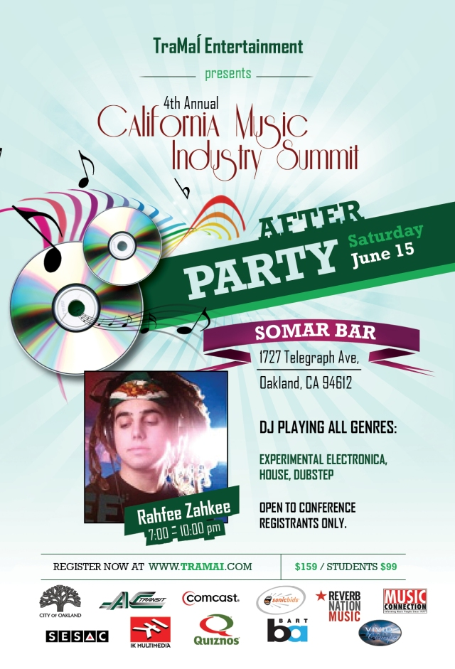 CMIS 4th Annual Music Conference After Party @ Somar in Oakland, CA