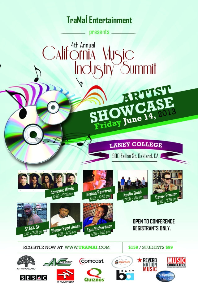 Artists Showcase @ Laney College in Oakland, CA During  Conference