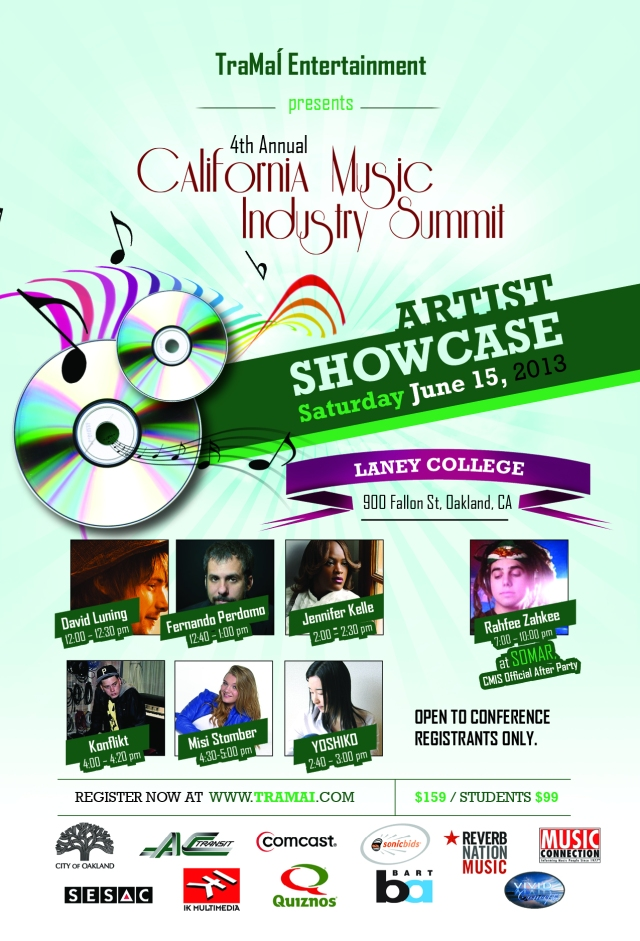 Artists Showcase @ Laney College During Conference