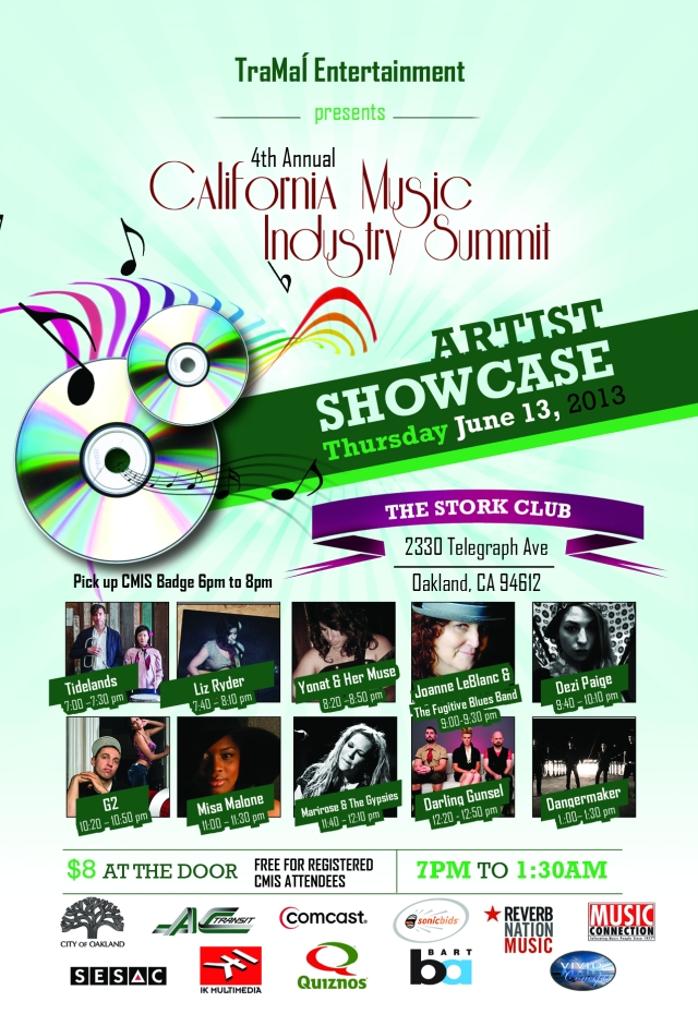 Artists Showcase @ The Stork Club